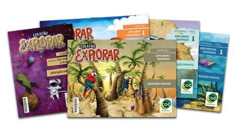 Coleção Explorar é o novo material didático para Educação Infantil