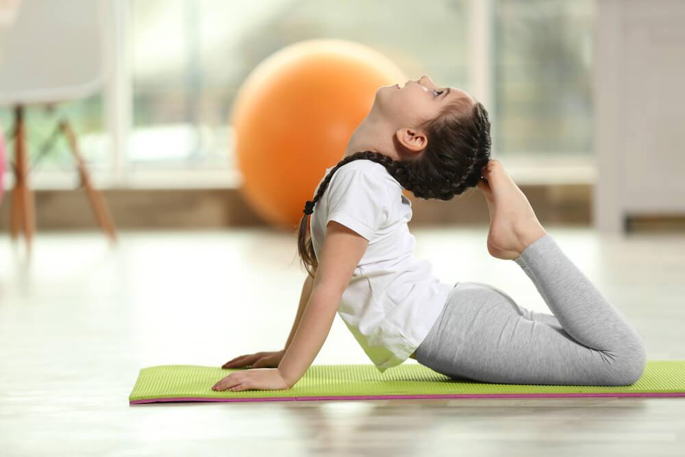 Yoga é bom para a mente e para o corpo